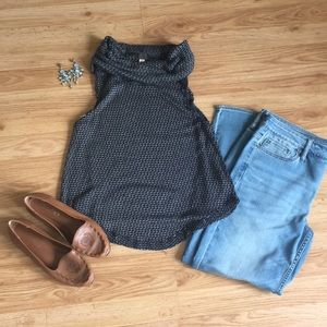Free People (Urban Outfitters) Cowl neck Tank-top